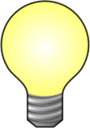 Icon for Light Bulb